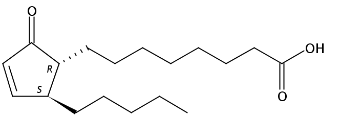 Structural formula of 10-Oxo-11-phytoenoic acid