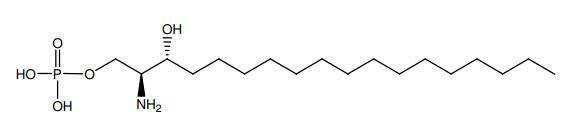 Structural formula of D-erythro-Dihydrosphingosine-1-phosphate
