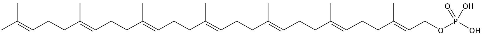 Structural formula of Heptaprenyl-MPDA