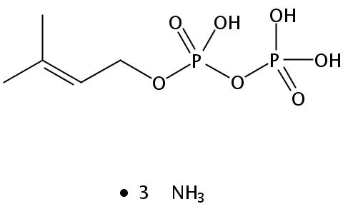 Structural formula of gamma,gamma-Dimethylallyl Diphosphate-TA