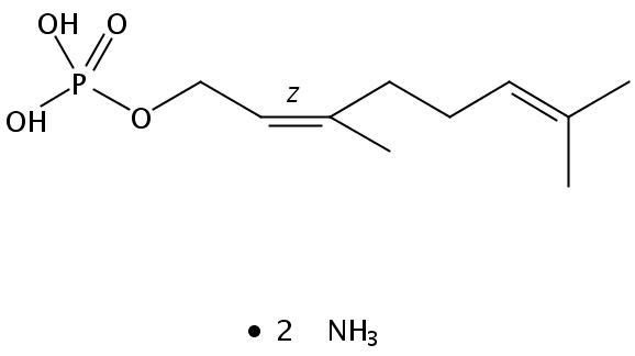 Structural formula of Geranyl Monophosphate-DA