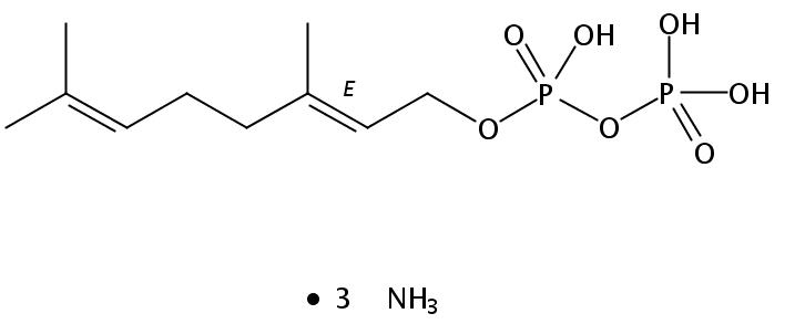 Structural formula of Geranyl Diphosphate-TA